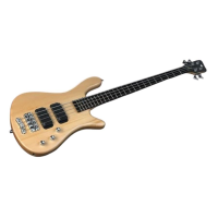 Warwick RB Streamer Std 4 Nat. Satin CHROME