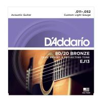 Set Corzi Chitara Acustica D'Addario EJ13 Custom Light