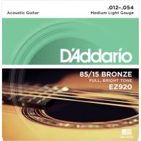 Corzi Chitara Acustica - Medium Light - D'Addario EZ920