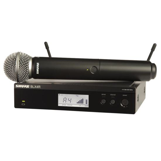 Microfon Wireless Shure BLX24R/SM58