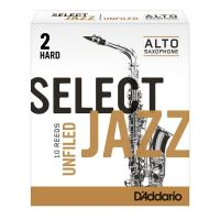 Ancii pentru Saxofon Alto Rico Select Jazz Unfiled