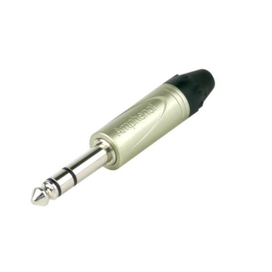 Conector Jack 6.3mm Stereo Amphenol QS3P